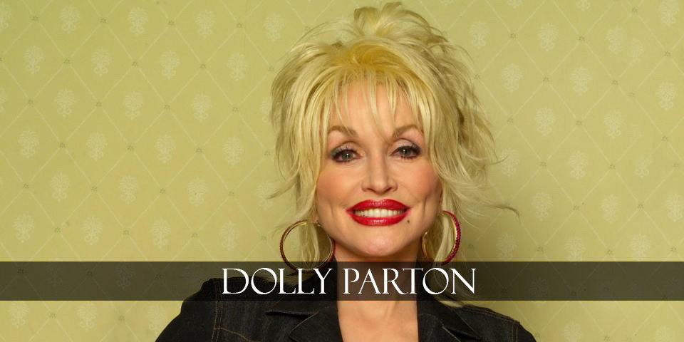 Dolly Parton smiles