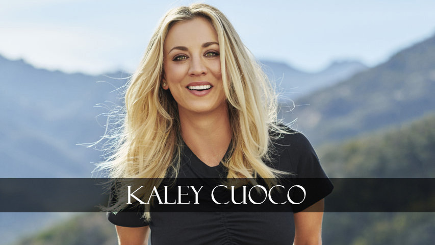 Kaley Cuoco smiles beautifully
