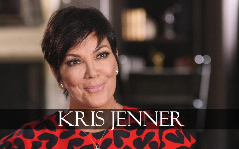 Kris Jenner smiles