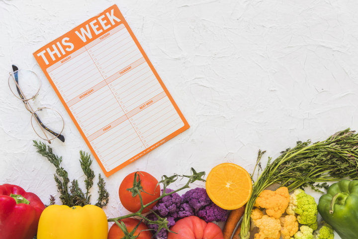 food Menu schedule, Weight Loss