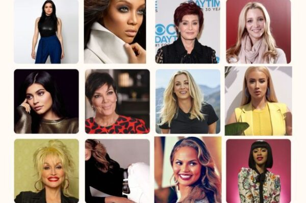 celebrity photo collage - Famous Celebrities