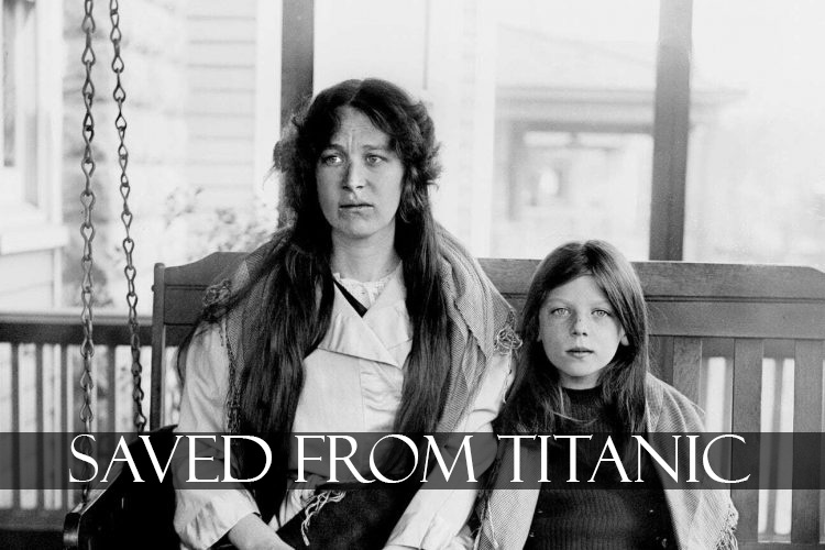 a mother and a daughter Saved From Titanic