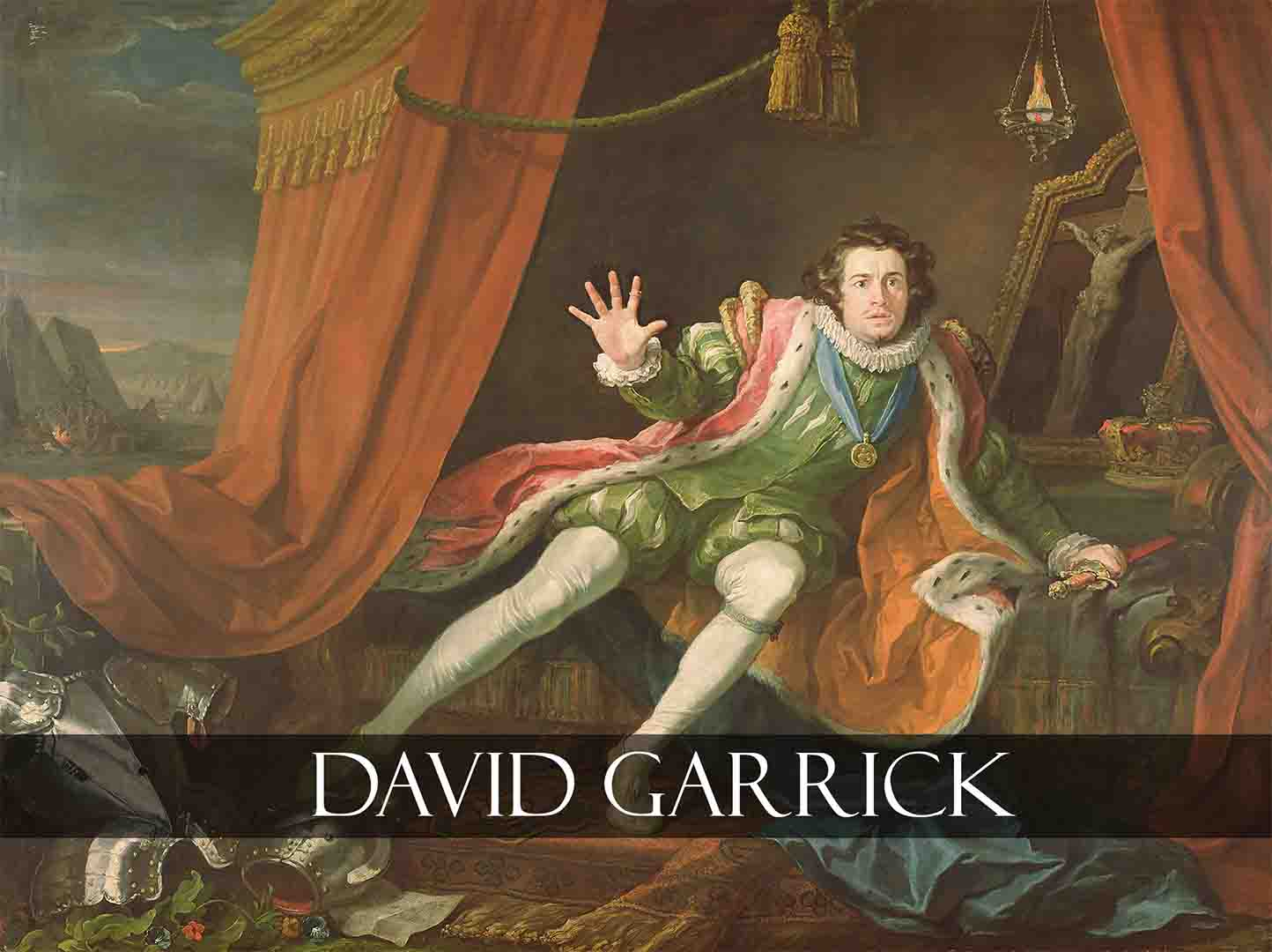 David Garrick Painting