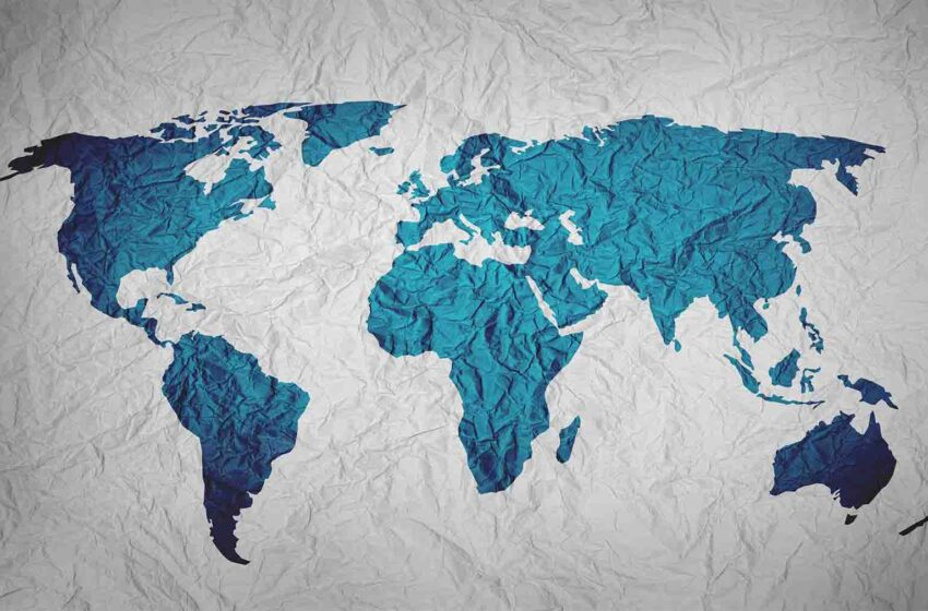 World Map - Polluted Countries